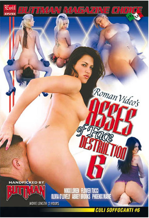 Asses of Face Destruction 6 - DVD