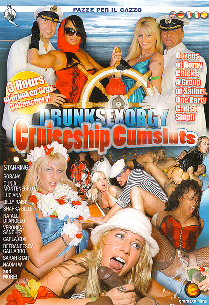 Drunk Sex Orgy Cruise Ship Cumsluts - DVD